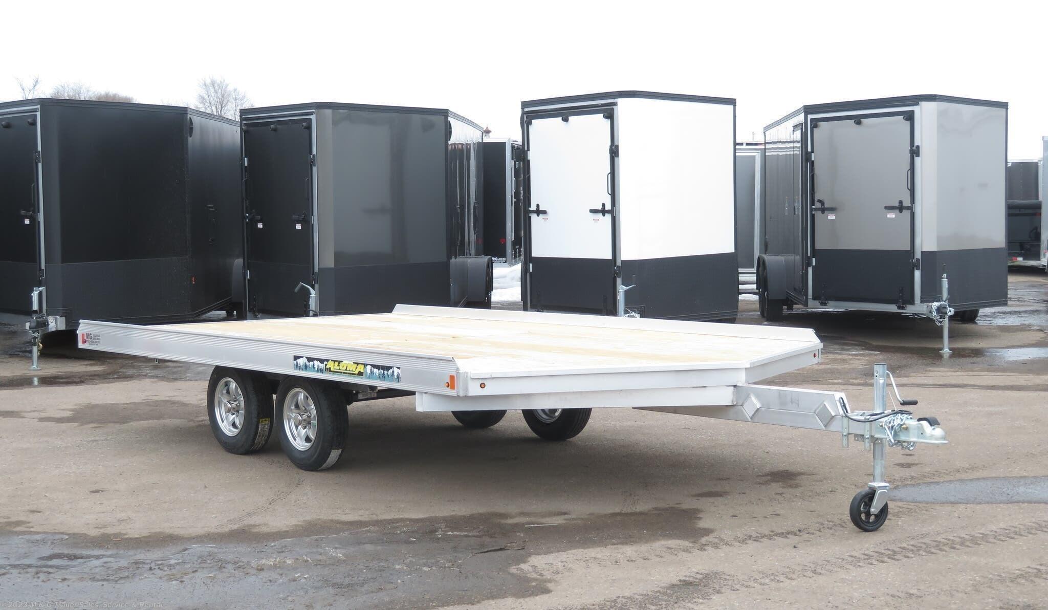 2021 Aluma 8614/13 Aluminum Snowmobile Trailer - Stock #229604