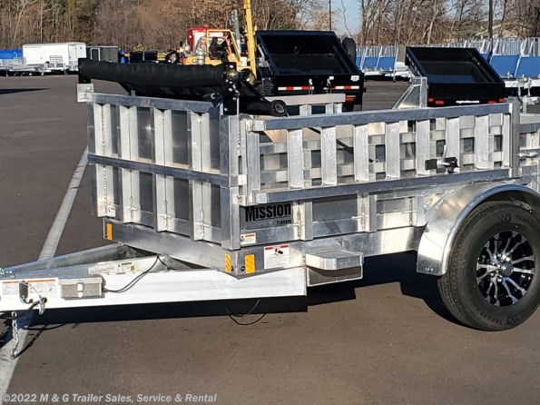 2021 Mission Trailers 5x8 Aluminum 3500lb GVWR Dump Trailer available in Ramsey, MN