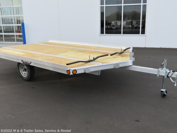 2021 Triton Trailers XT12VR QP 2 Place Snowmobile Trailer available in Ramsey, MN