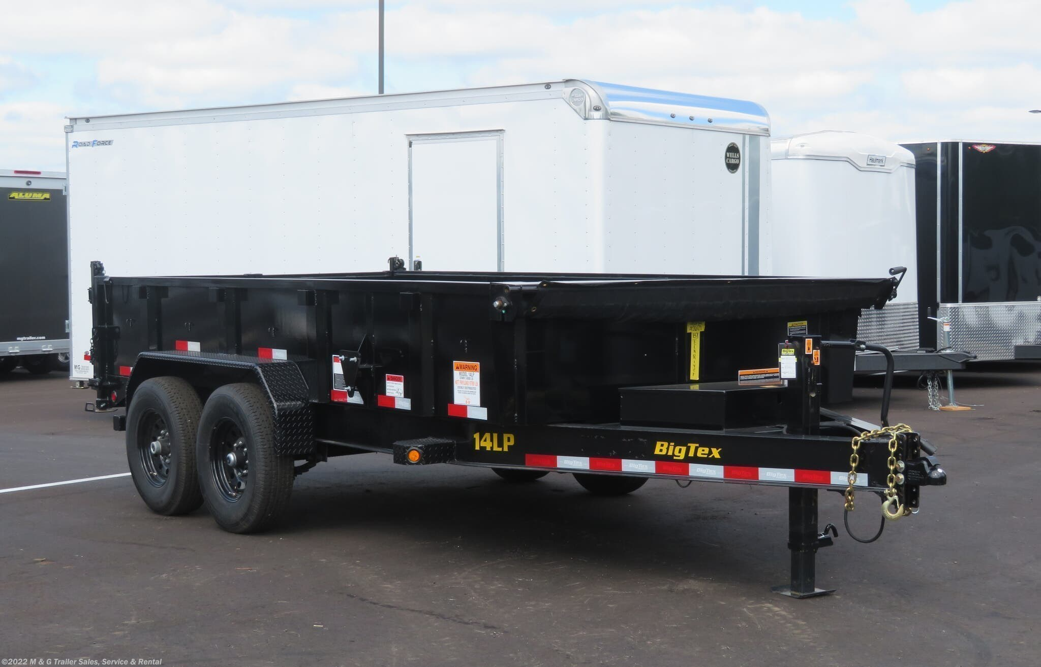 "2021 Big Tex 83""X14' Heavy Duty Dump - Stock #001499"