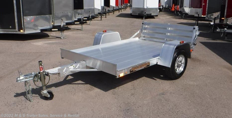 2022 Aluma 638BT Aluminum Utility Trailer - Stock #238928