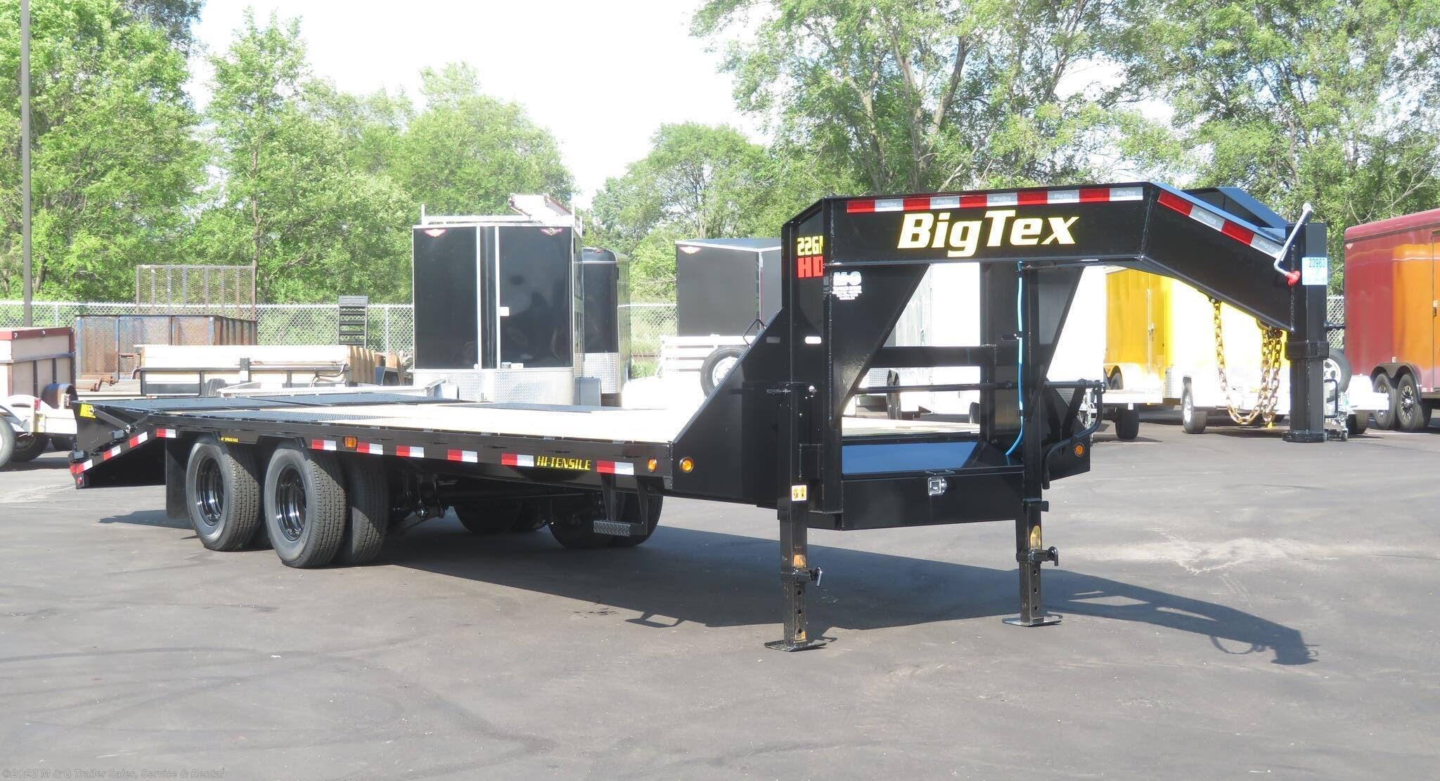 2022 Big Tex 8.5x20+5 Gooseneck Trailer - 23.9K GVWR - Stock #111639