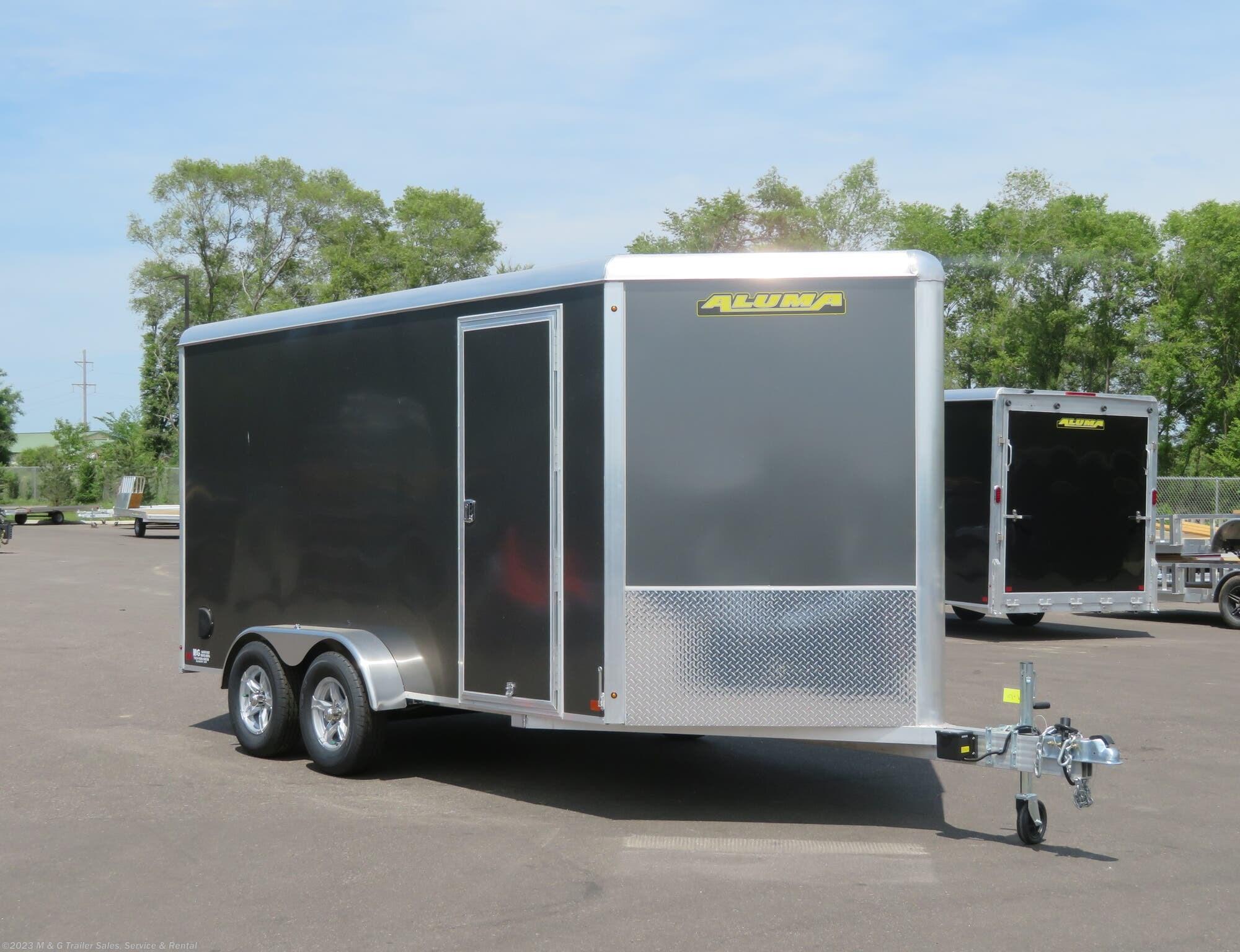 2022 Aluma 7x14TA All Aluminum Enclosed Trailer! - Stock #238436