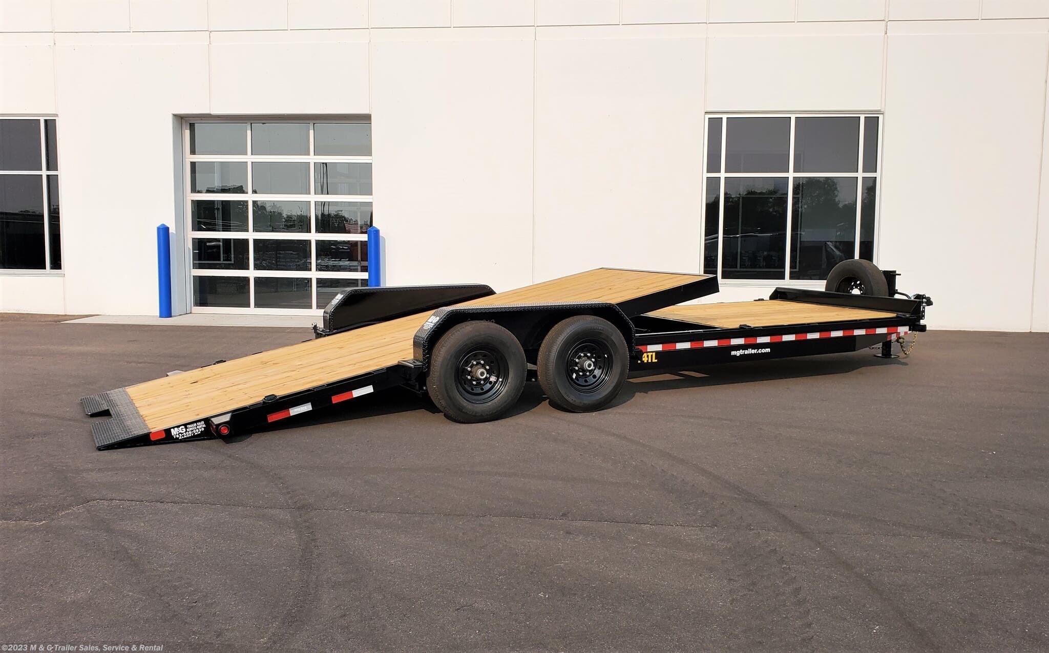 2021 Big Tex 24' Tilt Bed - 8' Stationary Deck - Stock #068900