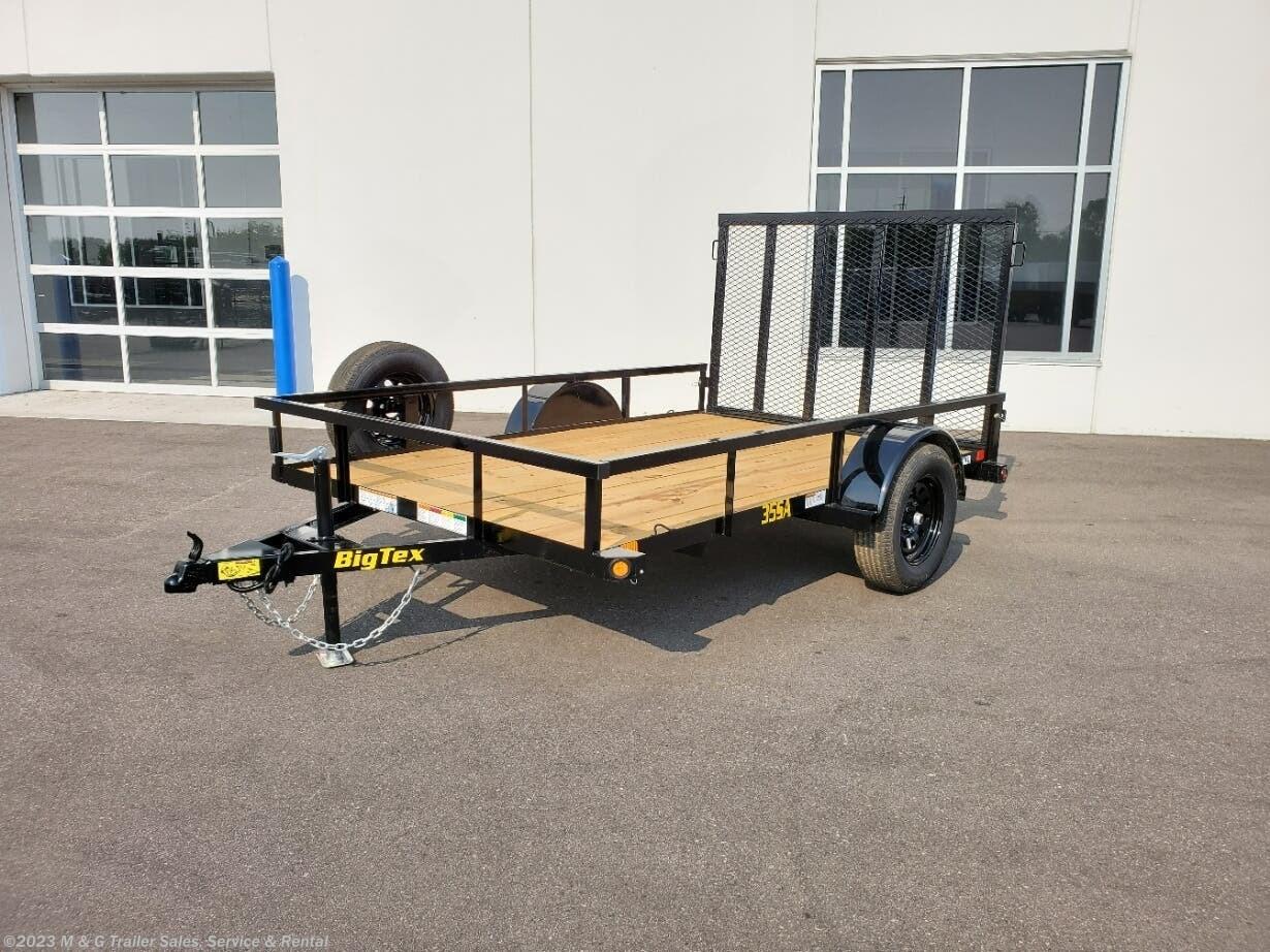 2022 Big Tex 77x10' SA Utility Trailer - Stock #140024