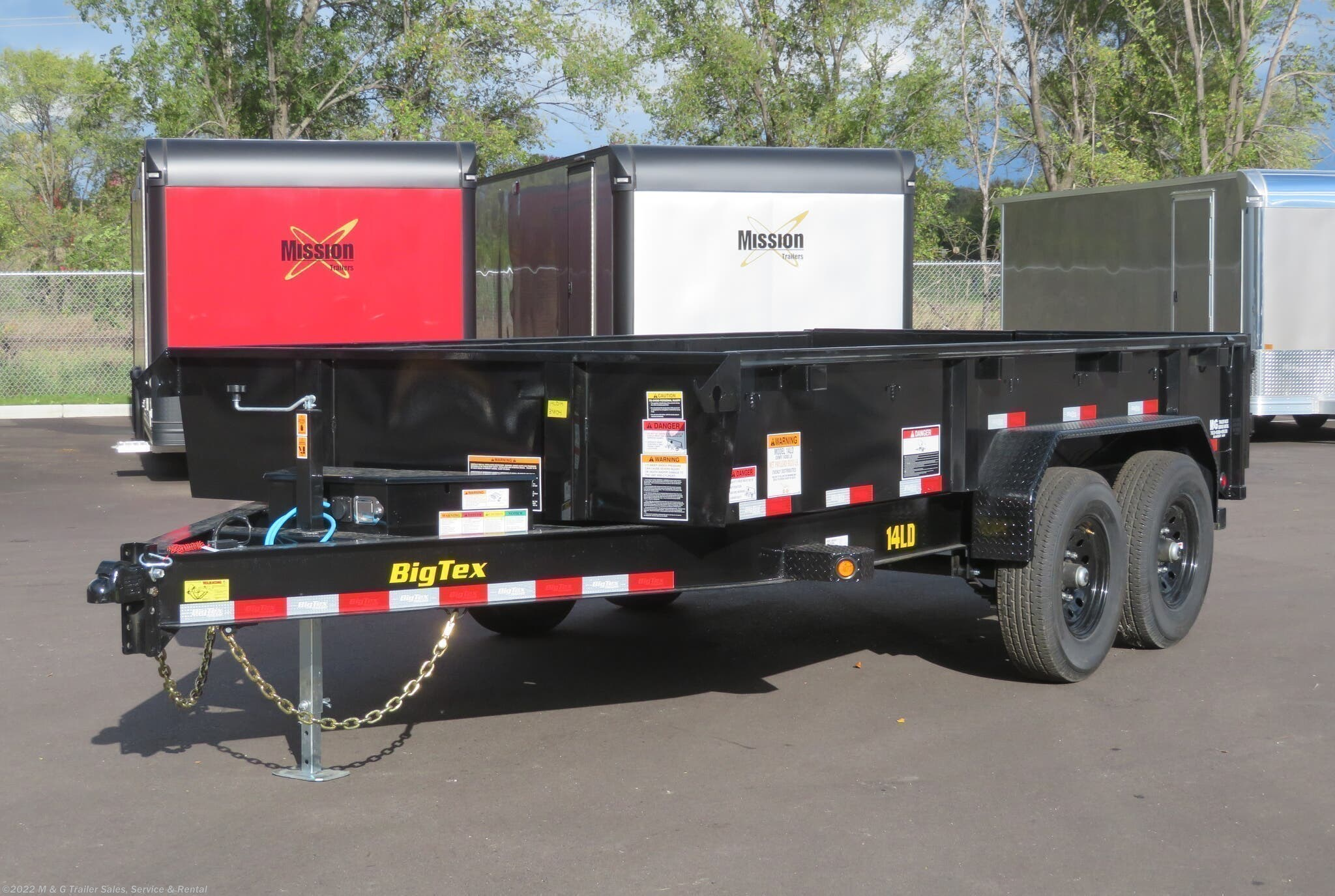 2021 Big Tex 83x14 LD Heavy Duty Dump - Stock #129489