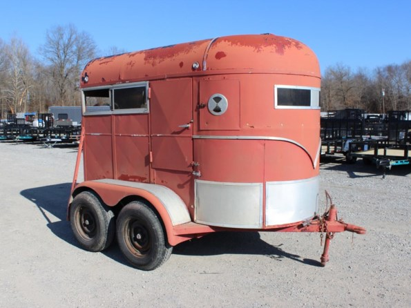 1982 Show Hauler Trailer BL508X78203DD available in Mount Vernon, IL