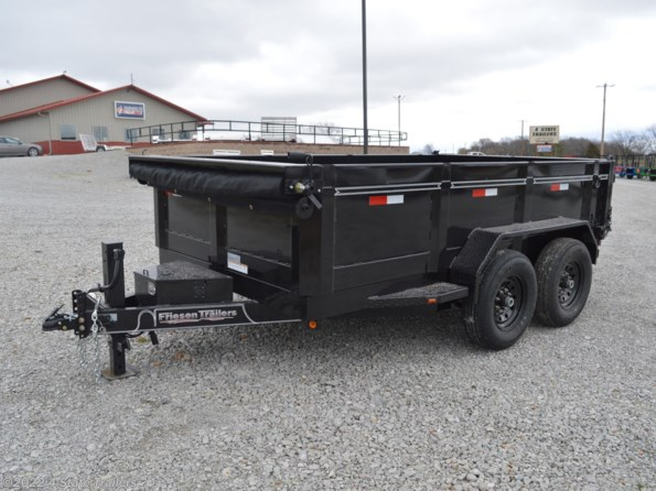 2021 Friesen 83X12  DUMP TRAILER available in Fairland, OK