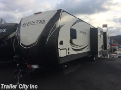 New 2017  Keystone Sprinter Wide Body 325BMK by Keystone from Trailer City, Inc. in Whitehall, WV