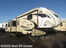 New 2017  Coachmen Chaparral 336TSIK  12 CU FT Refer/ Triple Slideoutss/Island  by Coachmen from Best RV Center in Turlock, CA