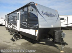 New 2017  Keystone Springdale 282BHWE ALL POWER PACKAGE / /Two Full Size Bunks / by Keystone from Best RV Center in Turlock, CA