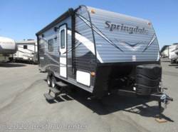 New 2018  Keystone Springdale 201RDWE /REAR LIVING/FRONT QUEEN BED by Keystone from Best RV Center in Turlock, CA