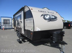 New 2018  Forest River Cherokee Grey Wolf 17BH  Double Bunks/ FLIP DOWN TRAVEL RACK/Outdoor  by Forest River from Best RV Center in Turlock, CA