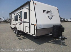 New 2017 Forest River Rockwood Mini Lite 2503S SOLID SURFACE / Oyster Fiberglass / Frameles available in Turlock, California