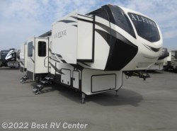 New 2018  Keystone Alpine 3800FK **NEW DESIGN-FRONT KITCHEN** 6 PT HYDRAULIC by Keystone from Best RV Center in Turlock, CA