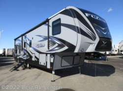 New 2018  Keystone Fuzion FZ369 X-EDITION PKG /11 Ft. GARAGE/ 6 PT HYDRAULIC by Keystone from Best RV Center in Turlock, CA