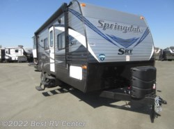 New 2018  Keystone Springdale 240SRTWE Off Road / Two Full Size Bunks Outdoor Ki by Keystone from Best RV Center in Turlock, CA