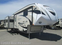 New 2017  Forest River  Chaparral 324TSRK Three Slideoutss/Rear Kitchen/ by Forest River from Best RV Center in Turlock, CA