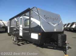 New 2018  Keystone Springdale 282BHSEWE / Two Full Size Bunks /Two Entry by Keystone from Best RV Center in Turlock, CA