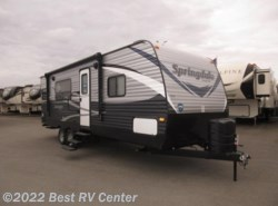 New 2018  Keystone Springdale 242RKW Rear Kitchen/ Front Walk Around Bed by Keystone from Best RV Center in Turlock, CA