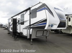 New 2018  Keystone Fuzion Impact FZ341 5.5 Gen/ 13FT Carage/ Ramp Door Patio Packag by Keystone from Best RV Center in Turlock, CA