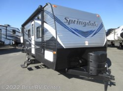 New 2018  Keystone Springdale 240BHWE Rear Twin Bunks/ Outdoor Kitchen/U-Shape D by Keystone from Best RV Center in Turlock, CA