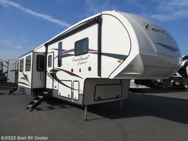 2019 Forest River RV Cardinal 383BH 6 Point Hydraulic Auto Leveling/ 2  Bedrooms/ for Sale in Turlock, CA 95382 | 19226