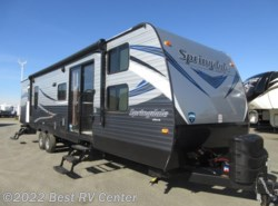 New 2018  Keystone Springdale 38BH Two Slide Outs/ Two Entry Doors/ Front Bunks by Keystone from Best RV Center in Turlock, CA