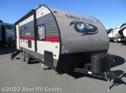 New 2018  Forest River Cherokee Grey Wolf 21RB Slide Out/ U Shaped Dinette/ Rear Bath by Forest River from Best RV Center in Turlock, CA