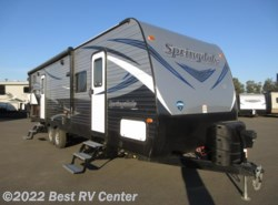 Used 2018  Keystone Springdale 280BH Rear Double Bunks/ 2 Entry Doors/ Vaulted Ce by Keystone from Best RV Center in Turlock, CA