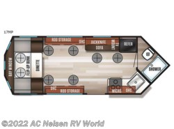New 2018  Forest River Cherokee Ice Cave 17MP by Forest River from AC Nelsen RV World in Shakopee, MN