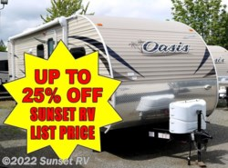 New 2017  Shasta Oasis 26DB by Shasta from Sunset RV in Bonney Lake, WA