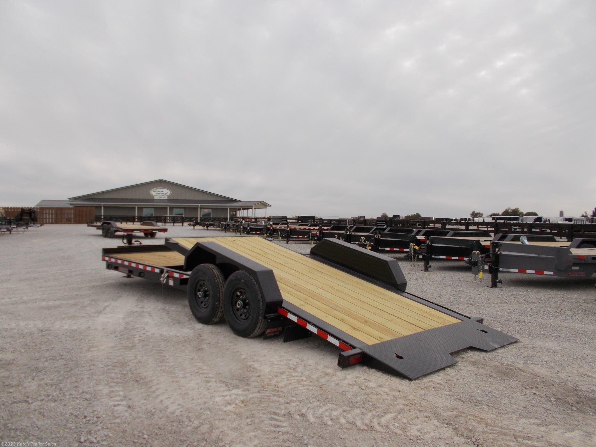 2021 Midsota 24' Tilt Equipment Trailer 15.4K GVWR - Stock #6092