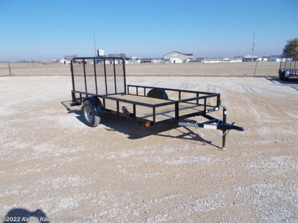 2021 Load Trail 77X12 Single Axle Utility Trailer available in Arthur, IL