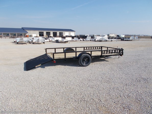 2021 Load Trail 83X14 Single Axle Side Rail Ramps available in Arthur, IL