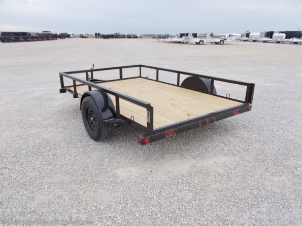 2021 Load Trail 77X10 Single Axle Utility Trailer available in Arthur, IL