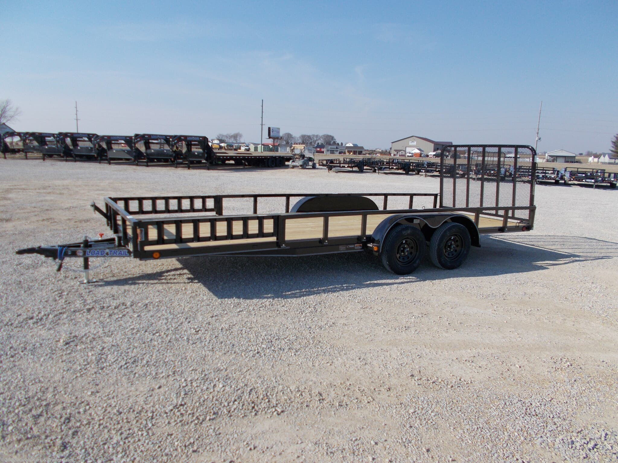 2021 Load Trail 20' Utility Trailer 83X20 Tandem Axle Side Ramps - Stock #6882