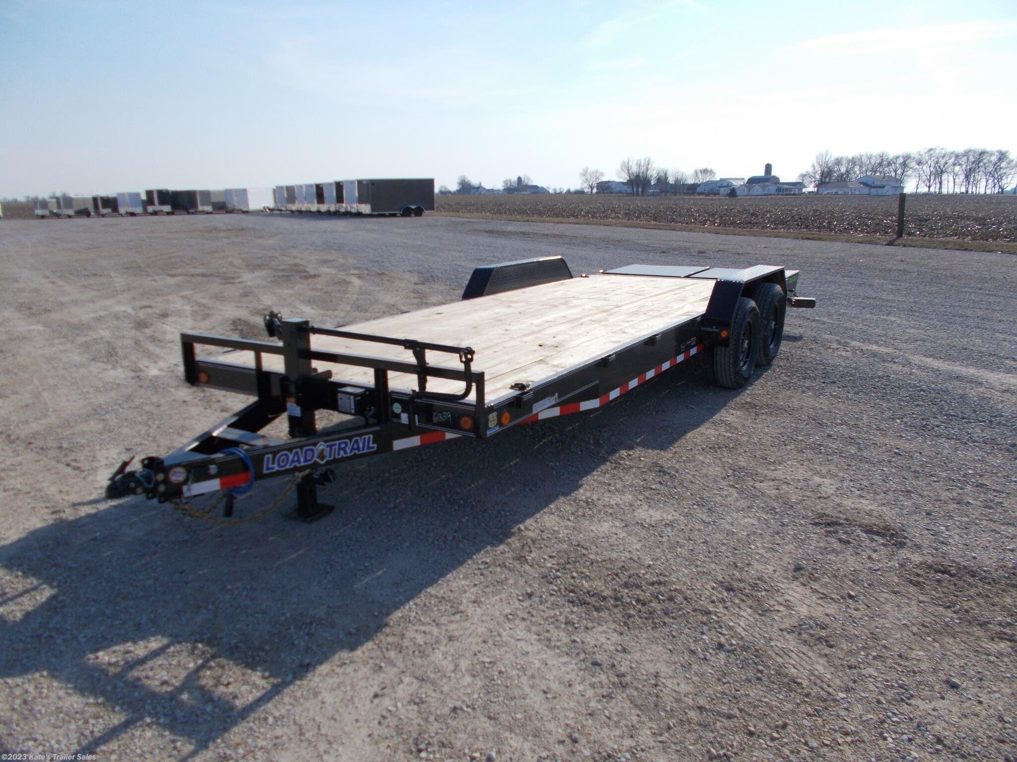 2021 Load Trail 83X22' Equipment Trailer 14000 LB GVWR MAX RAMPS - Stock #6884