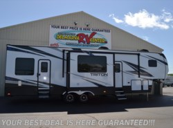 New 2018  Dutchmen Voltage Triton 3551 by Dutchmen from Delmarva RV Center in Seaford in Seaford, DE