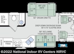 New 2018  Thor Motor Coach Aria 3401 by Thor Motor Coach from National Indoor RV Centers in Lawrenceville, GA