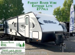 New 2018  Forest River Vibe Extreme Lite 277RLS by Forest River from Redwood Empire RVs in Ukiah, CA