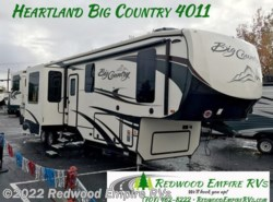 New 2018  Heartland RV Big Country BC 4011 ERD by Heartland RV from Redwood Empire RVs in Ukiah, CA