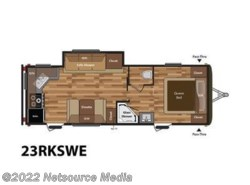 New 2017  Keystone Hideout 23RKSWE by Keystone from U-Neek RV Center in Kelso, WA
