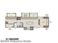 New 2017  Keystone Bullet 311BHSWE by Keystone from U-Neek RV Center in Kelso, WA