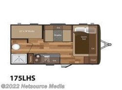 New 2017  Keystone Hideout 175LHS by Keystone from U-Neek RV Center in Kelso, WA