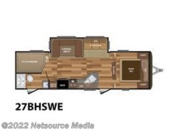 New 2017  Keystone Hideout 27BHSWE by Keystone from U-Neek RV Center in Kelso, WA