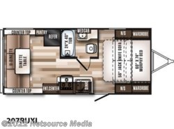New 2017  Forest River Wildwood X-Lite Northwest 207RUXL by Forest River from U-Neek RV Center in Kelso, WA