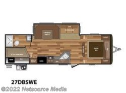 New 2018  Keystone Hideout Luxury 27DBSWE by Keystone from U-Neek RV Center in Kelso, WA