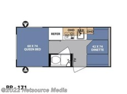 New 2018  Forest River R-Pod RP-171 by Forest River from U-Neek RV Center in Kelso, WA
