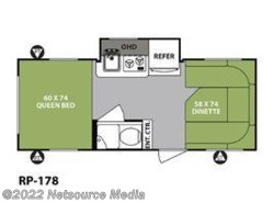 New 2018  Forest River R-Pod RP-178 by Forest River from U-Neek RV Center in Kelso, WA